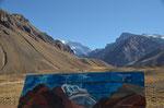 Blick auf den Aconcagua