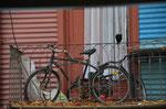 mein Rad klaut mir keiner - gesehen in Buenos Aires