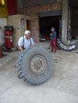 Reifen flicken in Guaranda