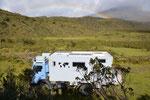 Campground mit Blick auf den Cotopaxi