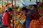 Marktfrauen in Sucre, Bolivien