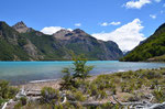 Am Lago Jeinimeni in Chile