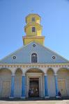 eine der 150 Holzkirchen von Chiloe