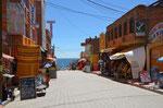 Einkaufsmeile in Copacabana