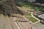 Die Festung in Ollantaytambo
