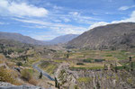 Einfahrt Colca Canyo