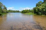 Aguas Caliente, Das Wasser ist 42 Grad warm