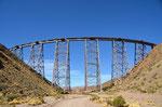 Viadukt Povorilla auf 4200m, 64m hoch, 224m lang