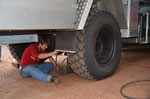 Reifenwechsel auf Brasilianisch