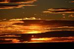 einer von vielen tollen Sonnenuntergängen