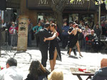 Tango Show in Mendoza, Nachmittags in der Fussgängerzone