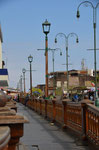Hölzerne Gehwege in Iquique