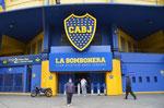 Eingang des La Boca Fußballstadions
