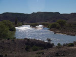 Im Rio Chubut Tal