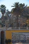 Santiago - Eingang zu einem der vielen Parks