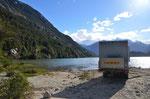 Übernachtungsplatz am Lago Bayo im Valle Exploradores