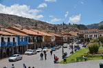 An der Plaza de Armas
