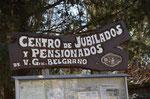 In Villa Belgrano. Hier wollte mich Karin eigentlich abgeben....