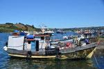 Chiloe: Hafen von Castro
