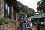 Schlange vor dem Eingang zu Machu Picchu