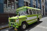 Stadtbus in La Paz