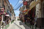 Calle Sagarnaka, die Einkaufsmeile