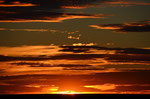 noch einer von vielen tollen Sonnenuntergängen