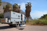 Schöner Übernachtungsplatz kurz vor Arica