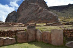 Inka Stätte in Pucara