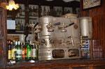 in die Jahre gekommene Espresso Maschine
