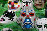 Diabolo Masken in La Paz