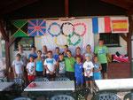 Die Teilnehmer beim Camp 2012