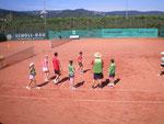 Aufwärmspiele fürs Tennis