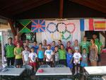 Teilnehmer und Betreuer beim Camp 2012