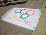 Das Tenniscamp 2012 ganz im Motto der olympischen Spiele