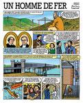 Un homme de fer (vie de Gustave Eiffel) page 1- Aveyron magazine