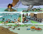 Les catastrophes naturelles - Dictionnaire School (Larousse)