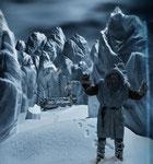 Perdu dans les glaces (détail) - photo Gilles de Beauchêne