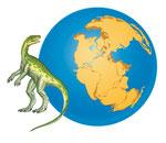Staurikosaurus - Spécial dinosaures - Editions Milan