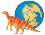 Iguanodon - Spécial dinosaures - Editions Milan