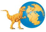 Allosaurus - Spécial dinosaures - Editions Milan