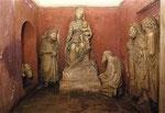 Altar in St. Maria Maggiore in Rom – Älteste Krippendarstellung