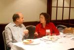 Frau und Herr Gerstl in der Mittagspause