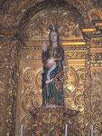 Maria schwanger in der Kathedrale von Evorà (Portugal)