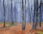 Waldstueck 9, 2016, Öl auf Leinwand, 40 x 50   (saled)