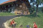 Das alte Reisingerhaus am Rothauptberg