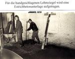 Erste Umbauarbeiten am Stehrerhof