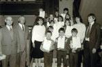 Preisträger in der Volksschule ca. 1980