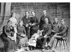 Familie Hans Köttl der Gründer der Fischzucht Köttl  um 1880