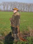 Silvester-Fuchs aus Kunstbau
